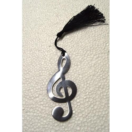 Segnalibro Musicale A Chiave Di Violino Con Cordino Gadget