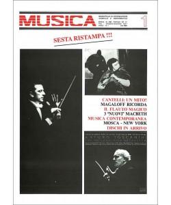 MUSICA n. 001 - Maggio 1977