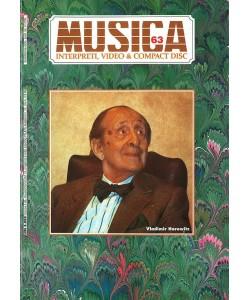 MUSICA n. 063 - Agosto-Settembre 1990