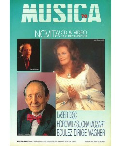 MUSICA n. 070 - Ottobre-Novembre 1991