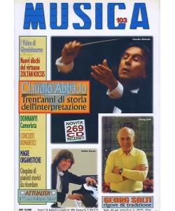 MUSICA n. 103 - Aprile-Maggio 1997