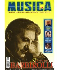 MUSICA n. 116 - Febbraio-Marzo 2000