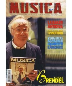 MUSICA n. 123 - Febbraio 2001