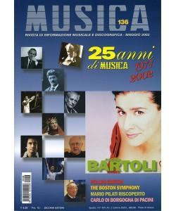 MUSICA n. 136 - Maggio 2002