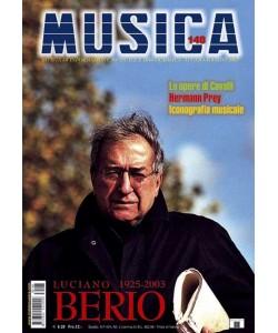 MUSICA n. 148 - Luglio-Agosto 2003