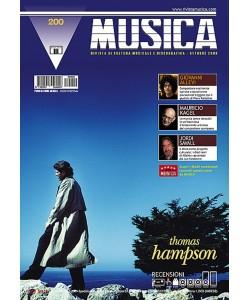 MUSICA n. 200 - Ottobre 2008