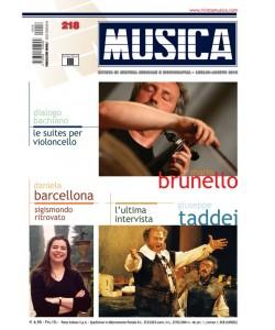 MUSICA n. 218 - Luglio-agosto 2010