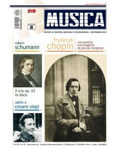 MUSICA n. 219 - Settembre 2010