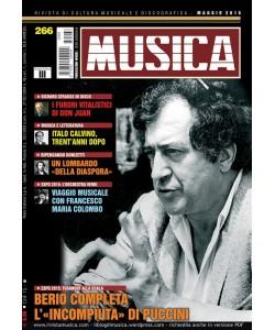 MUSICA n. 266 - Maggio 2015