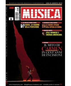 MUSICA n. 268 - Luglio-Agosto 2015