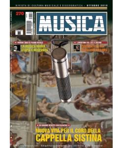 MUSICA n. 270 - Ottobre 2015
