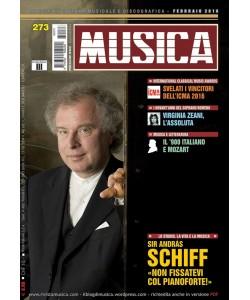 MUSICA n. 273 - Febbraio 2016