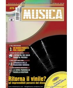 MUSICA n. 275 - Aprile 2016