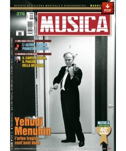 MUSICA n. 276 - Maggio 2016 (PDF)