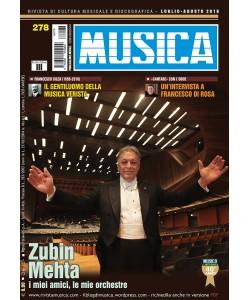MUSICA n. 278 - Luglio-Agosto 2016