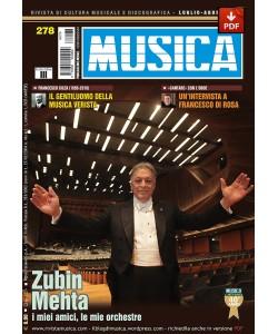 MUSICA n. 278 - Luglio-Agosto 2016 (PDF)