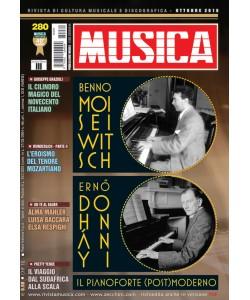 MUSICA n. 280 - Ottobre 2016