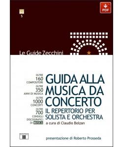 Guida alla Musica da Concerto. Il repertorio per solista e orchestra (PDF)