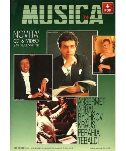 MUSICA n. 074 - Giugno-Luglio 1992 (PDF)