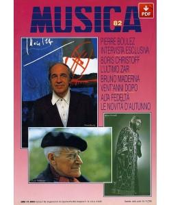 MUSICA n. 082 - Ottobre-Novembre 1993 (PDF)