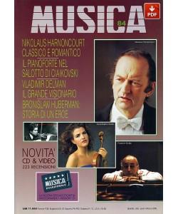 MUSICA n. 084 - Febbraio-Marzo 1994 (PDF)