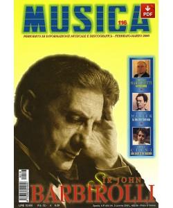 MUSICA n. 116 - Febbraio-Marzo 2000 (PDF)