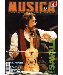 MUSICA n. 129 - Settembre 2001 (PDF)