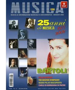 MUSICA n. 136 - Maggio 2002 (PDF)