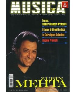 MUSICA n. 137 - Giugno 2002 (PDF)