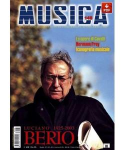MUSICA n. 148 - Luglio-Agosto 2003 (PDF)